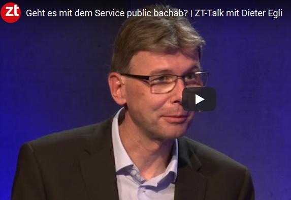 Dieter Egli im ZT-Talk